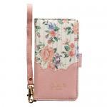 【マルチケース】iDress Floral Scallop ピンク