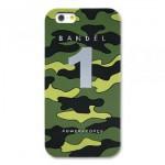 【iPhone6s/6 ケース】天然鉱石入り! BANDEL カモフラージュ No.1