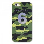 【iPhone6s/6 ケース】天然鉱石入り! BANDEL カモフラージュ No.6