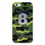 【iPhone6s/6 ケース】天然鉱石入り! BANDEL カモフラージュ No.8