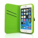 【iPhone6s/6 ケース】光を反射するスマホケース! Reflector Case グリーン