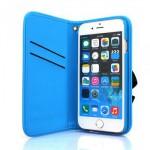 【iPhone6s/6 ケース】光を反射するスマホケース! Reflector Case ブルー