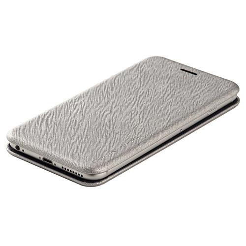 まさに貝殻! iPhone本体の形にピッタリはまるスリムな手帳型ケース!