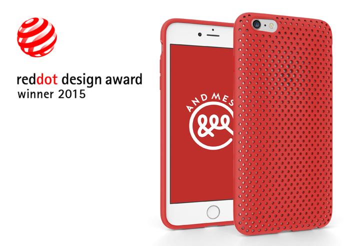 レッドドット・デザイン賞を受賞した、世界に認められたメッシュケース