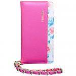 【iPhone6s/6 ケース】rienda 内側サマーフラワー ピンク