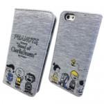 【iPhone6s/6 ケース】スヌーピー ピーナッツ スウェットフリップケース フレンズ