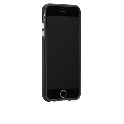 スマートなデザインがいい!! シリコンバンパーのハードシェルの二重構造のiPhoneケース!!