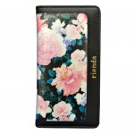 【iPhone6s/6 ケース】rienda ダブルローズ ブラック