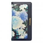 【iPhone6s/6 ケース】rienda ダブルローズ ネイビー