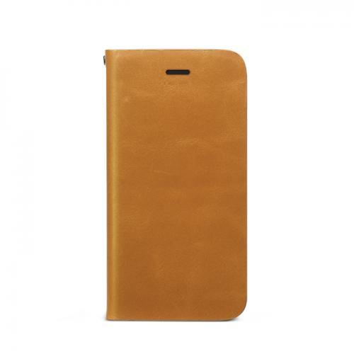 -本革-好きにはたまらない!レザーの持つ魅力を引き出した手帳型iPhone SEケース!