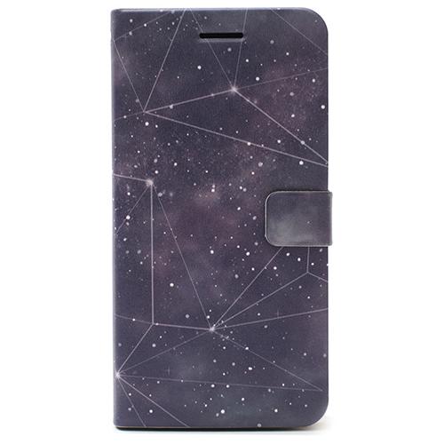 GYLAXYという名がふさわしい!星空と星座のデザインがオシャレ!手帳型iPhoneケース!