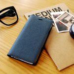 素材は-本革-のみ。素材と機能だけにこだわったシンプルな手帳型iPhoneケース
