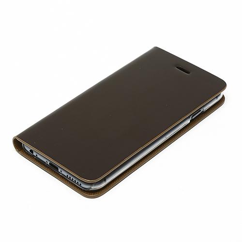 光沢がある-レザー-が格好いい!この価格でこの仕上がり!職人技が光る手帳型iPhoneケース!